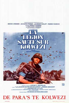 Military Coup in Kolwezi - 11 x 17 Movie Poster - Belgian Style A