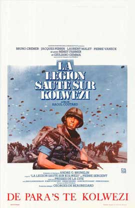 Military Coup in Kolwezi - 27 x 40 Movie Poster - Belgian Style A