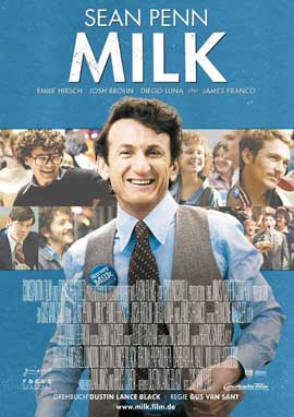 Milk - 27 x 40 Movie Poster - German Style A