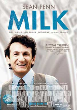 Milk - 11 x 17 Movie Poster - Swiss Style A