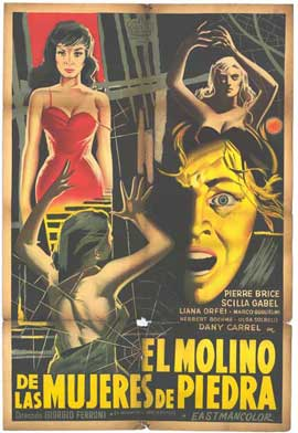 Mill of the Stone Women - 27 x 40 Movie Poster - Spanish Style A