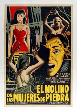Mill of the Stone Women - 27 x 40 Movie Poster - Danish Style A