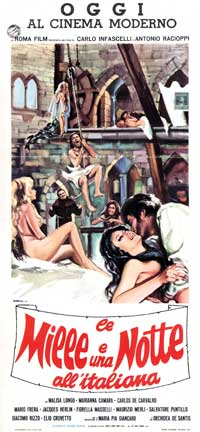 Mille e una notte all'italiana, Le - 13 x 28 Movie Poster - Italian Style A