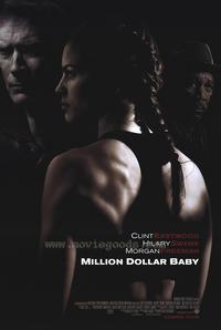 Million Dollar Baby - 43 x 62 Movie Poster - Bus Shelter Style A