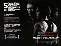 Million Dollar Baby - 30 x 40 Movie Poster UK - Style A