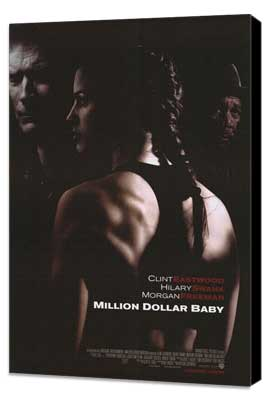 Million Dollar Baby - 27 x 40 Movie Poster - Style A - Museum Wrapped Canvas