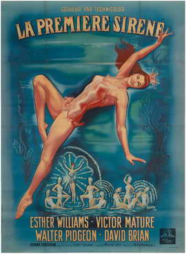 Million Dollar Mermaid - 27 x 40 Movie Poster - Style A