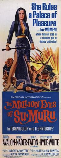 Million Eyes of Su-Muru - 14 x 36 Movie Poster - Insert Style A