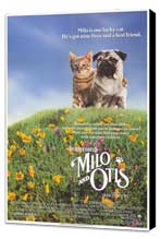 Milo & Otis - 11 x 17 Movie Poster - Style B - Museum Wrapped Canvas