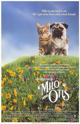 Milo & Otis - 11 x 17 Movie Poster - Style B