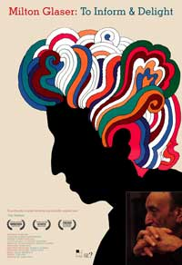 Milton Glaser: To Inform and Delight - 43 x 62 Movie Poster - Bus Shelter Style A