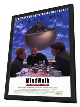 Mindwalk - 11 x 17 Movie Poster - Style A - in Deluxe Wood Frame