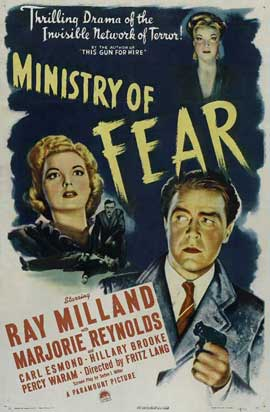 Ministry of Fear - 11 x 17 Movie Poster - Style A