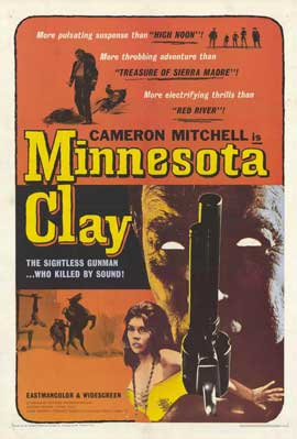 Minnesota Clay - 11 x 17 Movie Poster - Style A