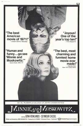 Minnie and Moskowitz - 11 x 17 Movie Poster - Style A