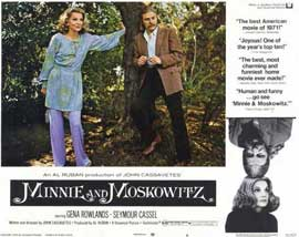 Minnie and Moskowitz - 11 x 14 Movie Poster - Style A