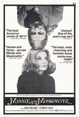 Minnie and Moskowitz - 27 x 40 Movie Poster - Style A