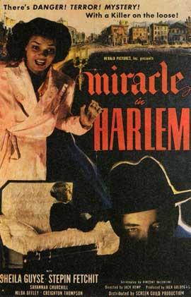 Miracle in Harlem - 11 x 17 Movie Poster - Style A