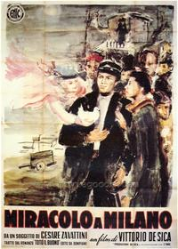 Miracle in Milan - 27 x 40 Movie Poster - Foreign - Style A