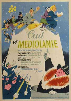 Miracle in Milan - 11 x 17 Movie Poster - Polish Style A