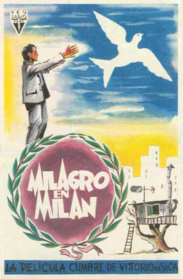 Miracle in Milan - 11 x 17 Movie Poster - Spanish Style A