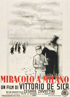 Miracle in Milan - 11 x 17 Movie Poster - Italian Style B