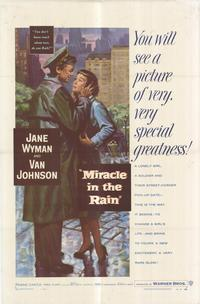 Miracle in the Rain - 27 x 40 Movie Poster - Style A