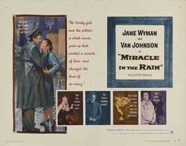 Miracle in the Rain - 22 x 28 Movie Poster - Half Sheet Style A