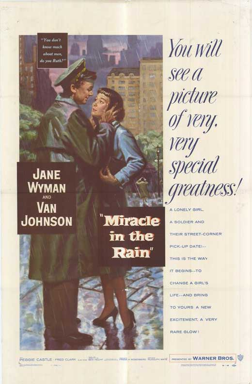 Miracle In The Rain Movie Posters From Movie Poster Shop