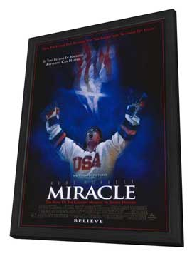 Miracle - 27 x 40 Movie Poster - Style A - in Deluxe Wood Frame