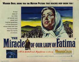 Miracle of Our Lady of Fatima - 11 x 14 Movie Poster - Style A