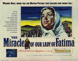 Miracle of Our Lady of Fatima - 22 x 28 Movie Poster - Half Sheet Style A