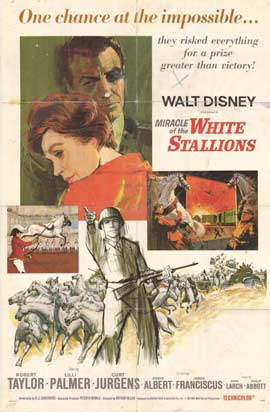 The Miracle of the White Stallions - 11 x 17 Movie Poster - Style A