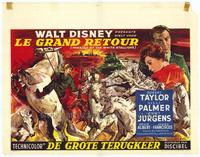 The Miracle of the White Stallions - 11 x 17 Movie Poster - Belgian Style A