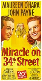 Miracle on 34th Street - 14 x 36 Movie Poster - Insert Style A