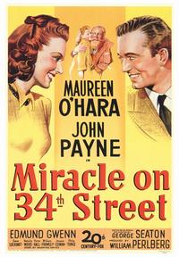 Miracle on 34th Street - 43 x 62 Movie Poster - Bus Shelter Style A