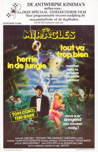 Miracles - 11 x 17 Movie Poster - Belgian Style A
