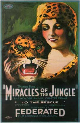 Miracles of the Jungle - 11 x 17 Movie Poster - Style A