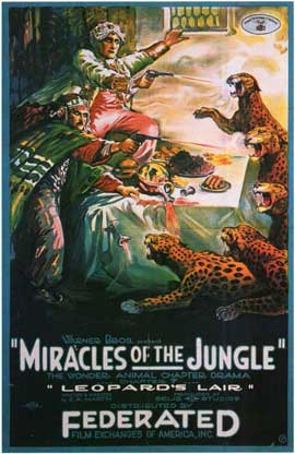 Miracles of the Jungle - 11 x 17 Movie Poster - Style B