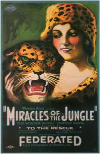 Miracles of the Jungle - 43 x 62 Movie Poster - Bus Shelter Style A