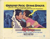 Mirage - 22 x 28 Movie Poster - Half Sheet Style A