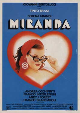 Miranda - 11 x 17 Movie Poster - Italian Style A