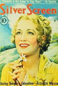 Miriam Hopkins - 11 x 17 Silver Screen Magazine Cover 1930's Style A