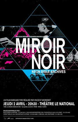 Miroir noir - 11 x 17 Movie Poster - Canadian Style A