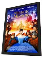 Mirror Mirror - 11 x 17 Movie Poster - Style D - in Deluxe Wood Frame