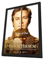 Mirror Mirror - 11 x 17 Movie Poster - Style E - in Deluxe Wood Frame