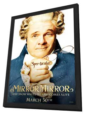 Mirror Mirror - 11 x 17 Movie Poster - Style F - in Deluxe Wood Frame