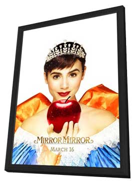 Mirror Mirror - 27 x 40 Movie Poster - Style B - in Deluxe Wood Frame
