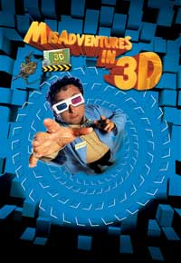 Misadventures in 3D - 43 x 62 Movie Poster - Bus Shelter Style B