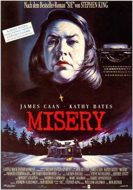 Misery - 11 x 17 Movie Poster - German Style A